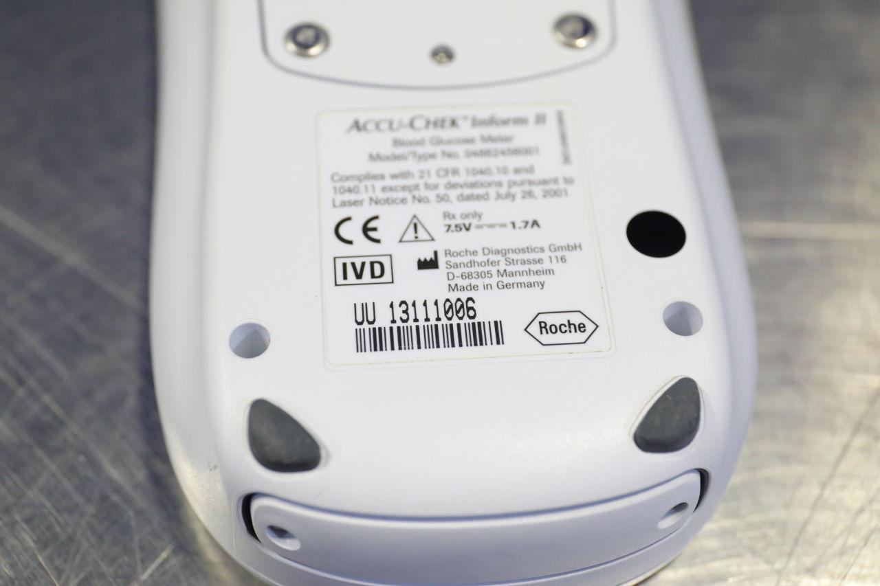 ROCHE DIAGNOSTICS Accu-Check Inform II Glucose Analyzer