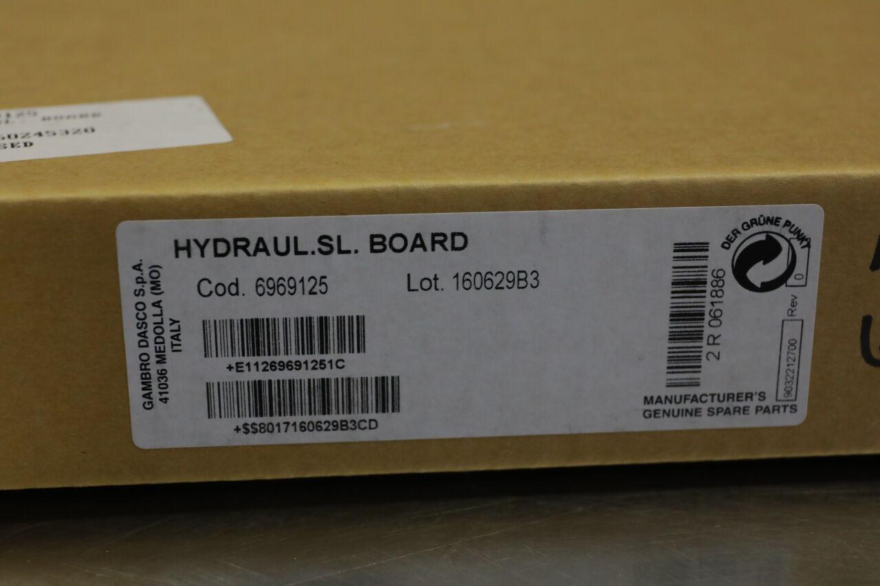 GAMBRO DASCO 6969125 Hydraul SL Board Dialysis Machine