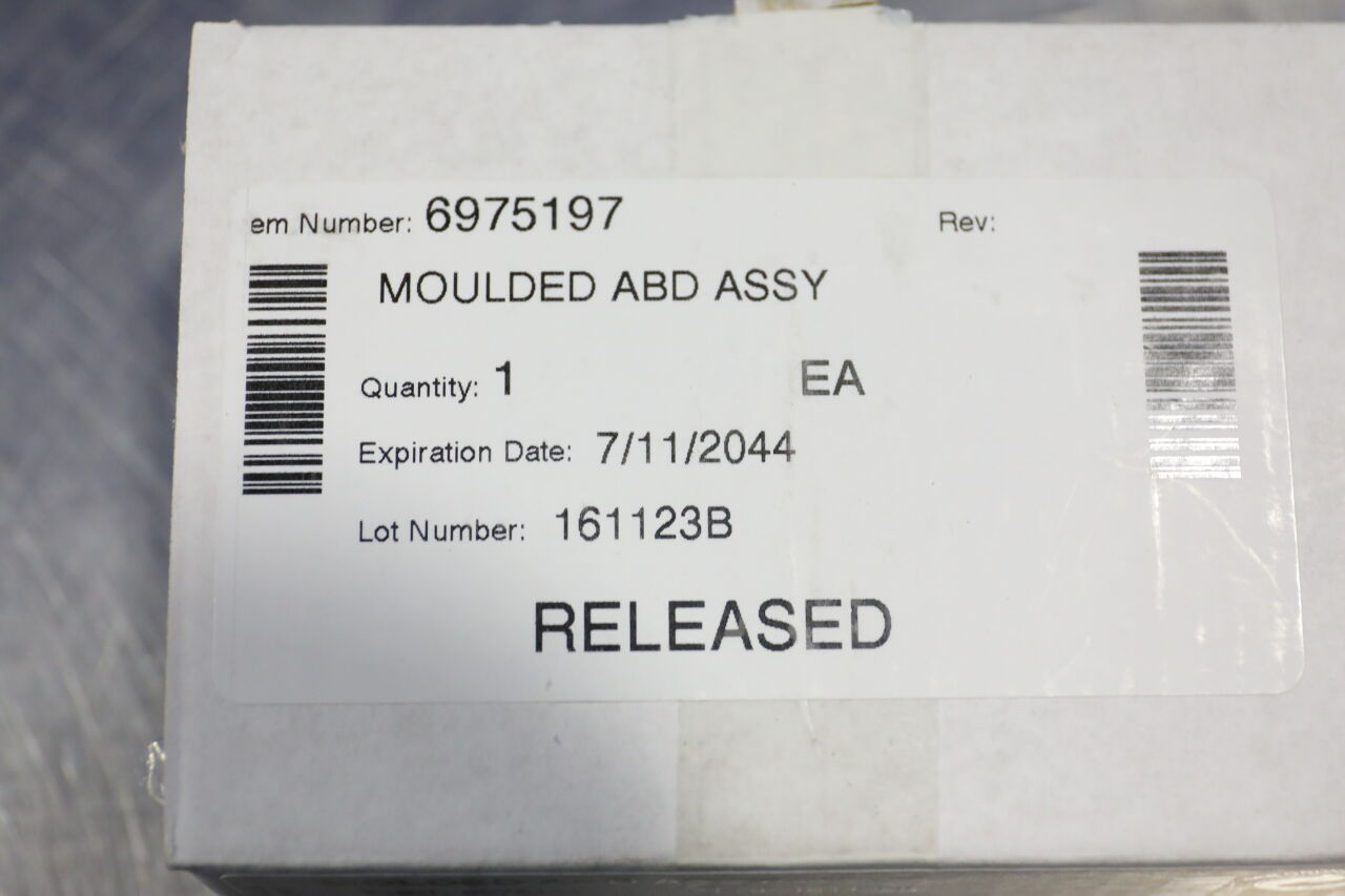 GAMBRO DASCO 6975197 Molded ABD Assembly - Lot of 3 Dialysis Machine