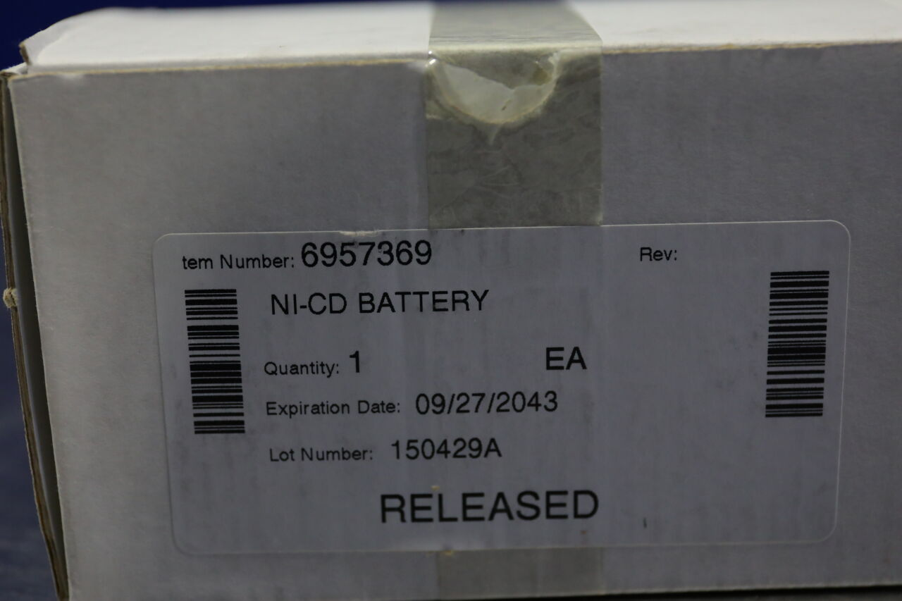 GAMBRO DASCO 6957369 NI-CD Battery Dialysis Machine