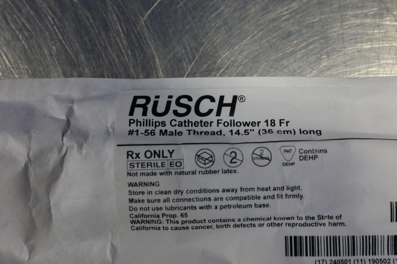 TELEFLEX 346118 Philips Catheter Follower - Lot of 2