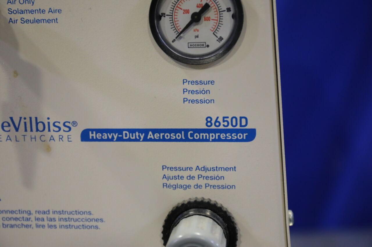 DEVILBISS 8650D Air Compressor