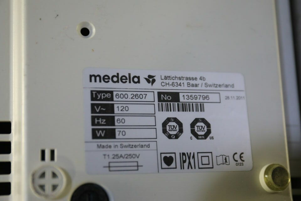 MEDELA Vario 18 Pump Suction