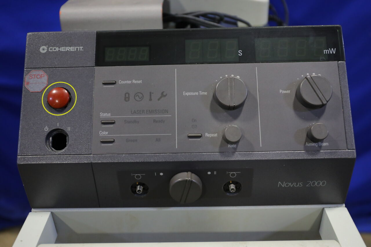COHERENT Novus 2000 Laser - Argon