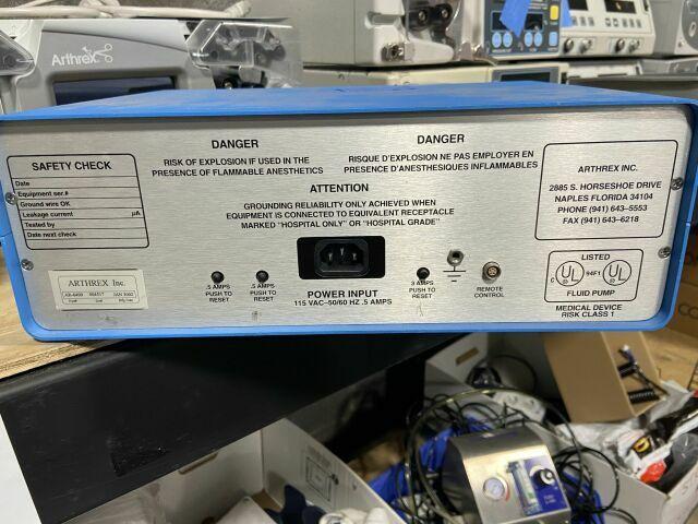 ARTHREX AR-6400 Arthroscopy Pump