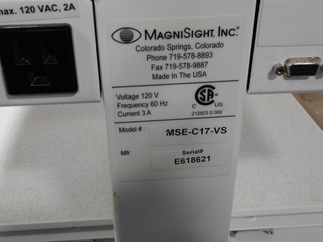 MAGNISIGHT INC MSE-C17-VS Ophthalmology General