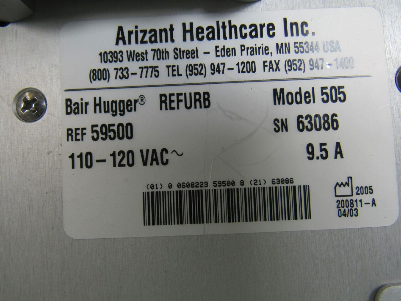 ARIZANT Bair Hugger 505 Patient Warmer