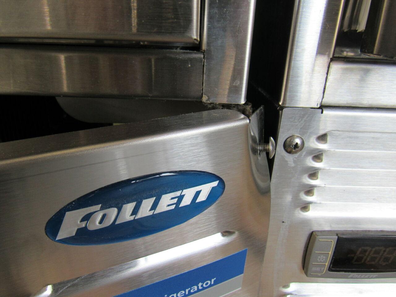 FOLLETT REF5 Lot of 2 Refrigerator Freezer