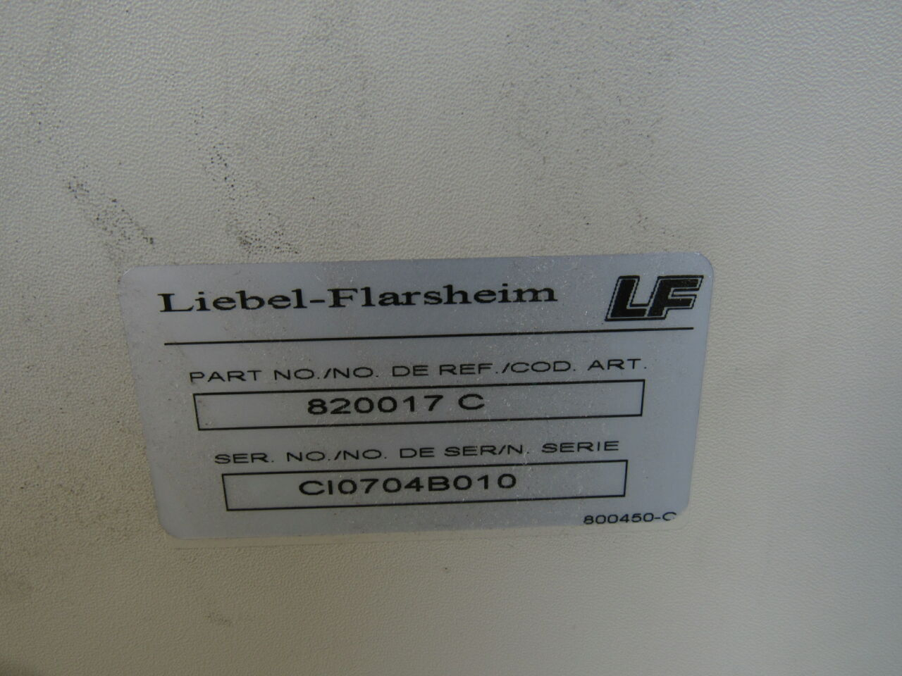 LIBEL FLARSHIEM CT 9000 ADV +  820017 Monitor and Keyboard Injector CT