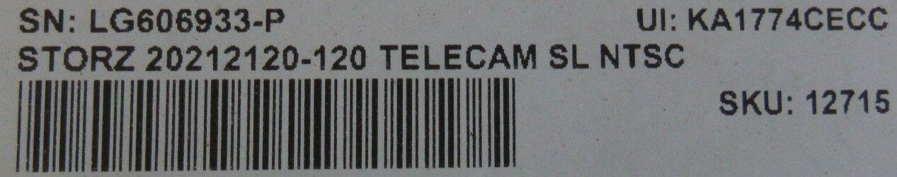 STORZ 20212120-120 Telecam SL NTSC O/R Camera