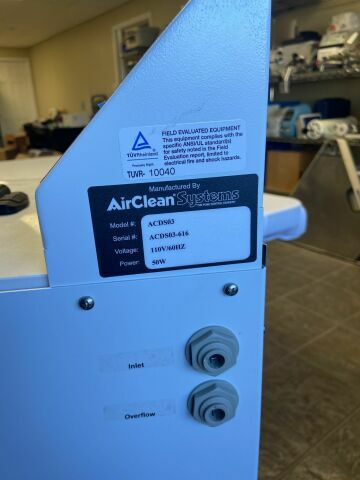 AIR CLEAN SYSTEMS ACDS03 Automated Deactivation System