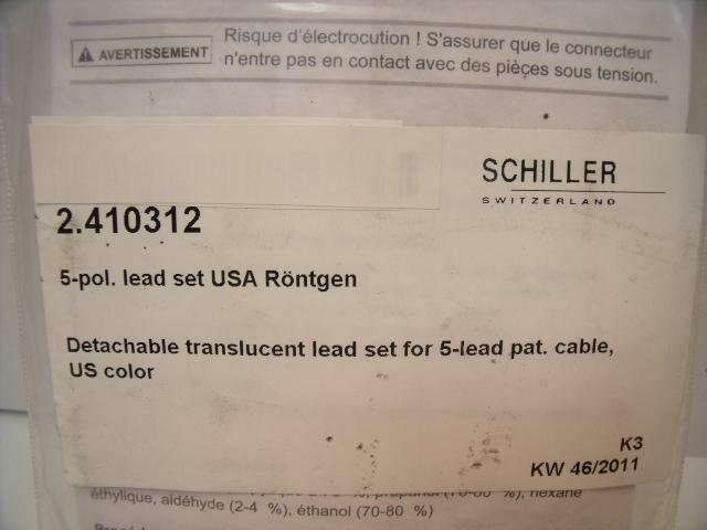 SCHILLER 2.410312     ECG unit