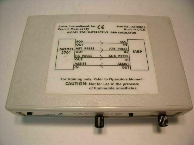 ARROW 2701 ECG unit