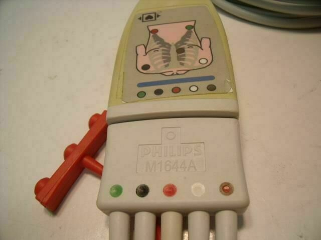 PHILIPS M1644A ECG unit