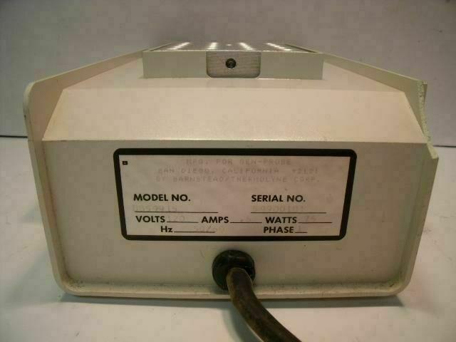 GEN-PROBE 2775 DRI-BATH Heat Therapy Unit
