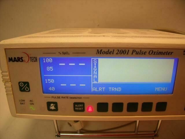 NOVAMETRIX 2001 PULSE OXIMETER  Oximeter - Pulse