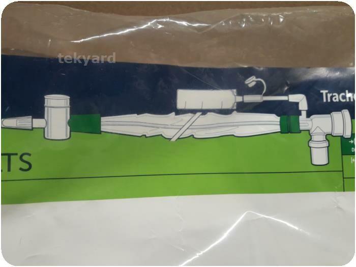 HALYARD 221036 Tracheostomy Closed Suction, Double Swivel Elbow Catheters