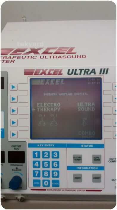 EXCEL Ultra III (EX-UL3) Therapy Ultrasound