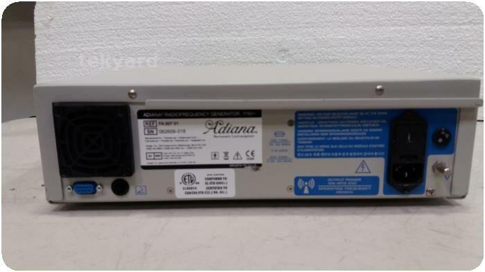 ADIANA  (RF) Radiofrequency FA00701 X-Ray Generator