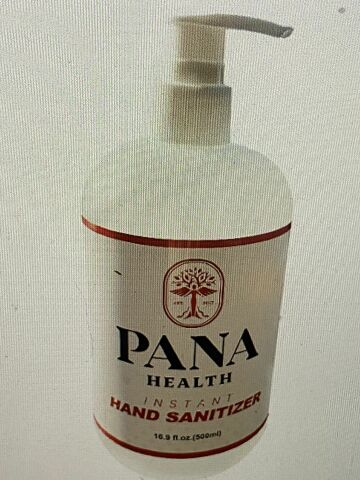 HEALTHCARE SERVICE & SUPPLY 16.9 ounce hospital grade PANA hand sanitizer  80 pump