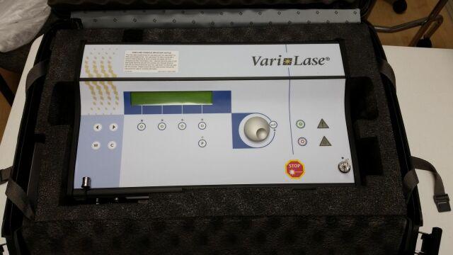 VASCULAR SOLUTIONS INC Vascular Solution Varilase 810 Laser console Surgical Laser