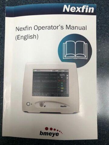 BMEYE NEXFIN monitor model 1 ANS/HRV