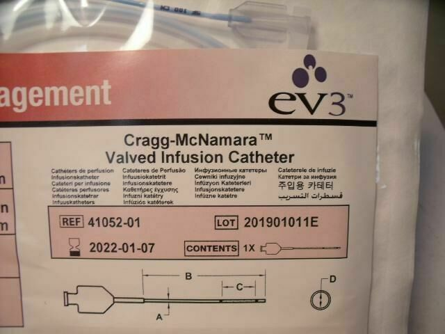 EV3 CRAGGMCNAMARA 41052-01     Catheters