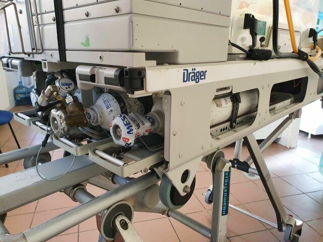 DRAEGER TI 500 Globetrotter  Transport System Infant Incubator