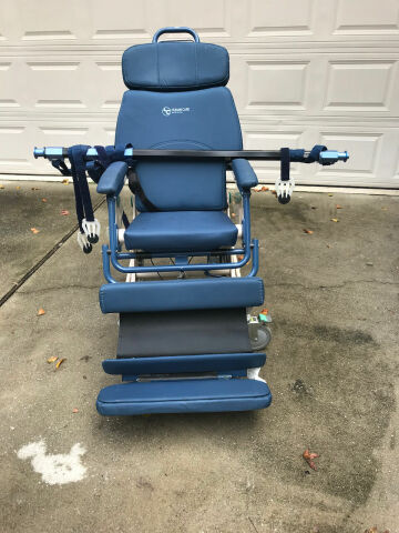 Barton H250 Convertible chair  transfer system Gurney