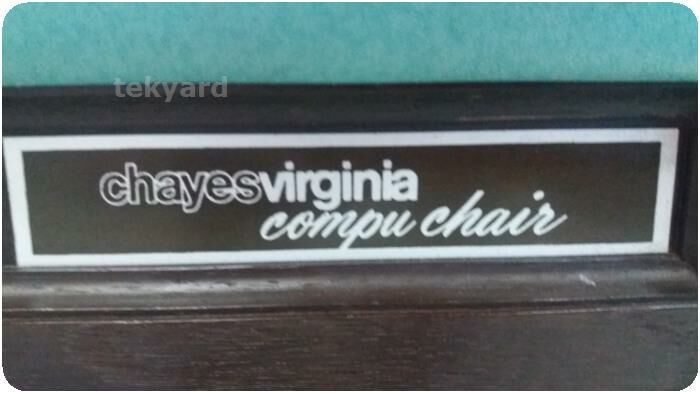 CHAYES VIRGINIA Dental Patient Exam Chair