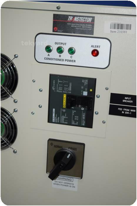 TRANSTECTOR 8DNX-60K (i) Power Conditioner