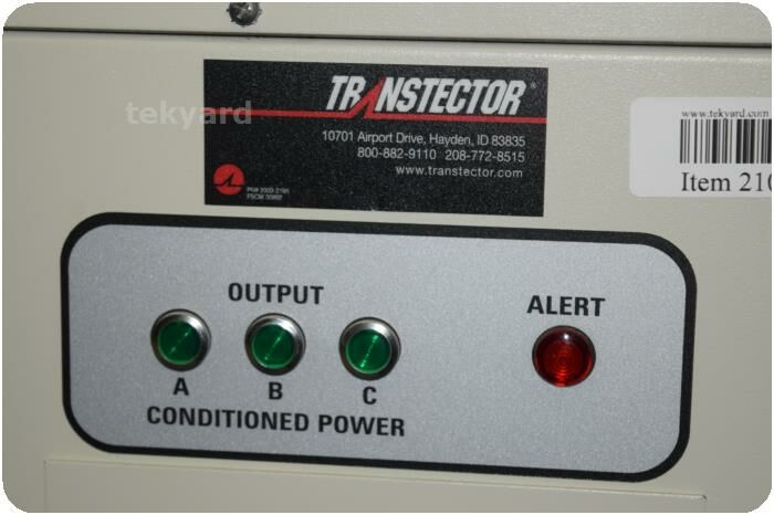 TRANSTECTOR 8DNX-60K (i) Power Conditioner