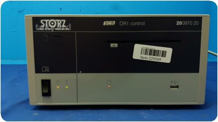 KARL STORZ SCB 200970 20 OR1  Control Endoscopy