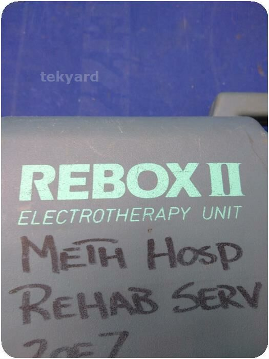REBOX II Electrotherapy Electrotherapeutic Pain Relief  Battery Stimulator