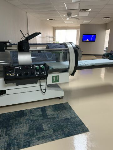 MONOPLACE SVS1 Hyperbaric Chamber