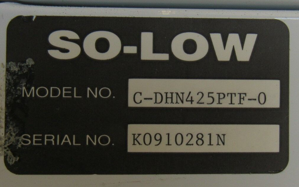 SO-LOW DHF-4-25PTF-0 Refrigerator Freezer