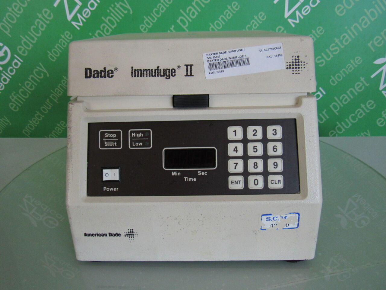 DADE Immufuge II  Centrifuge