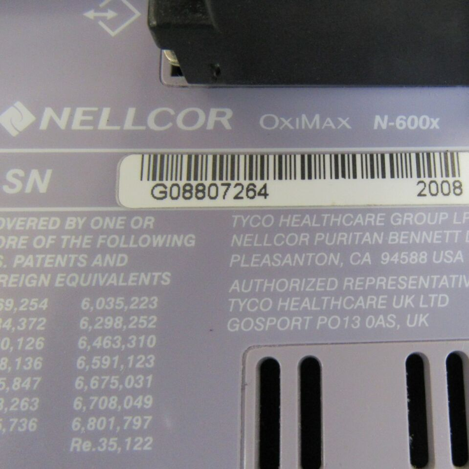 NELLCOR Oximax N-595 Oximeter - Pulse