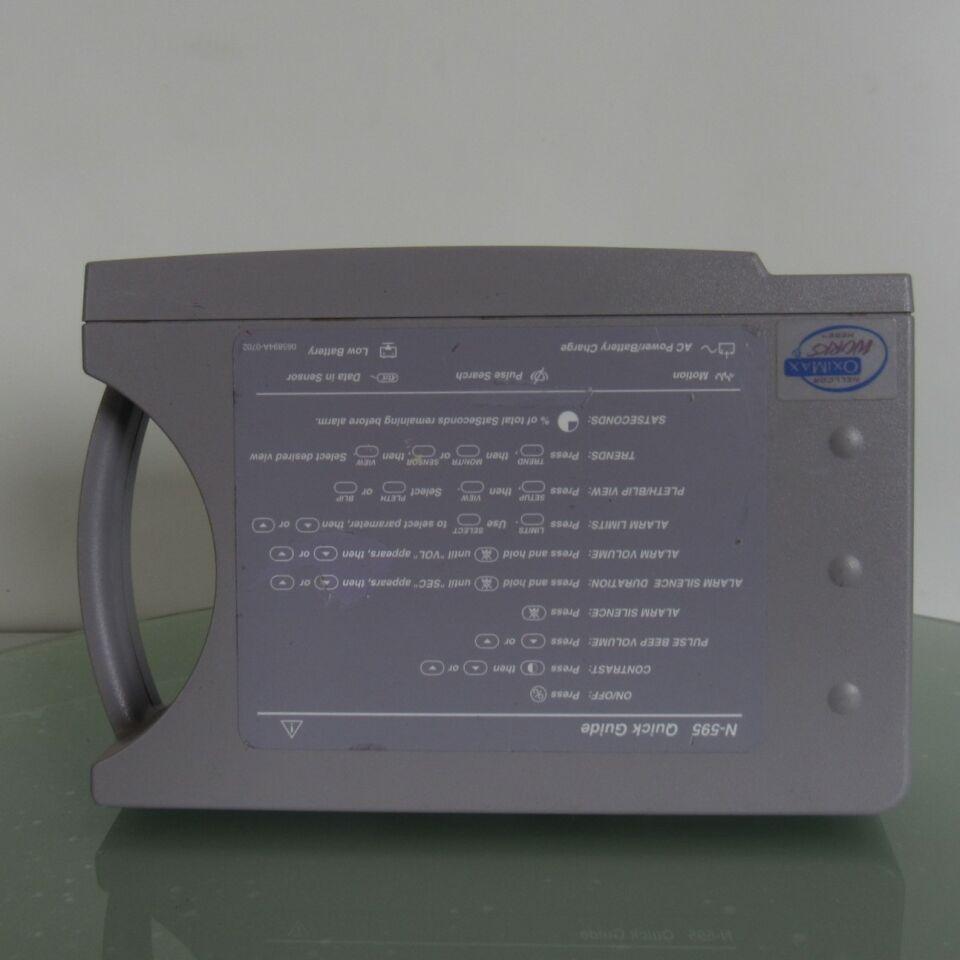 NELLCOR Oximax N-597 Oximeter - Pulse