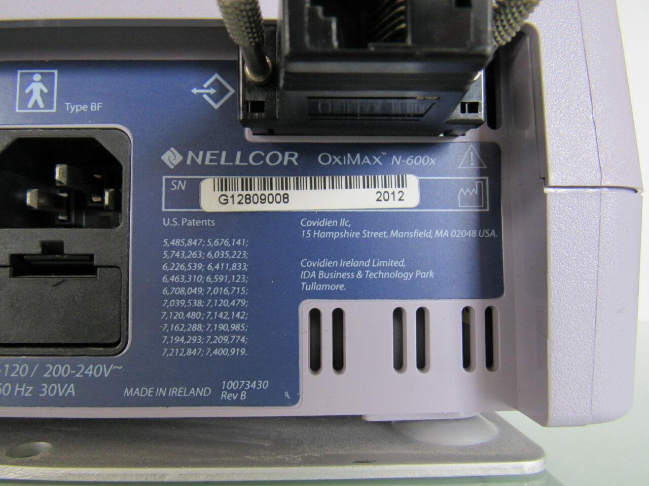 NELLCOR Oximax N-596 Oximeter - Pulse