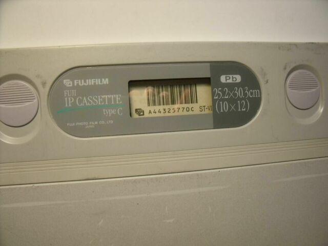 FUJIFILM 25.2 X 30.3CM (10 X 12)     Cassettes