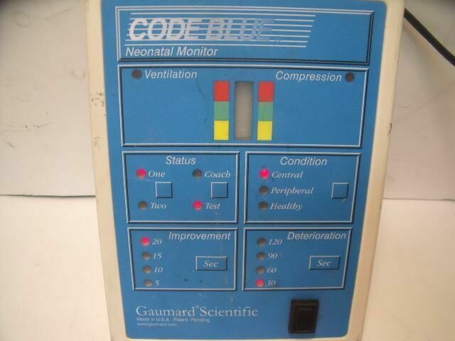 GAURMARD SCIENTIFIC CODE BLUE      Neonatal Monitor