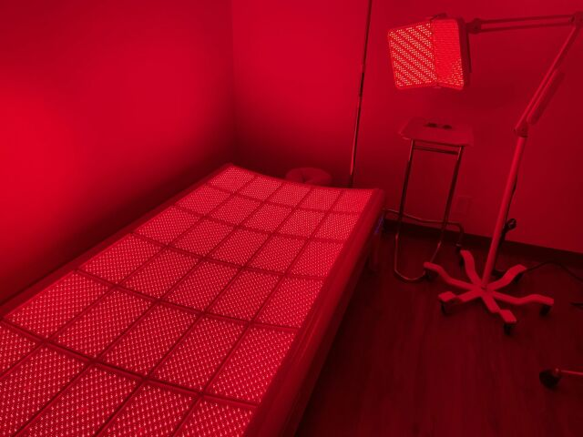 LIGHTSTIM LED bed and Face Panel