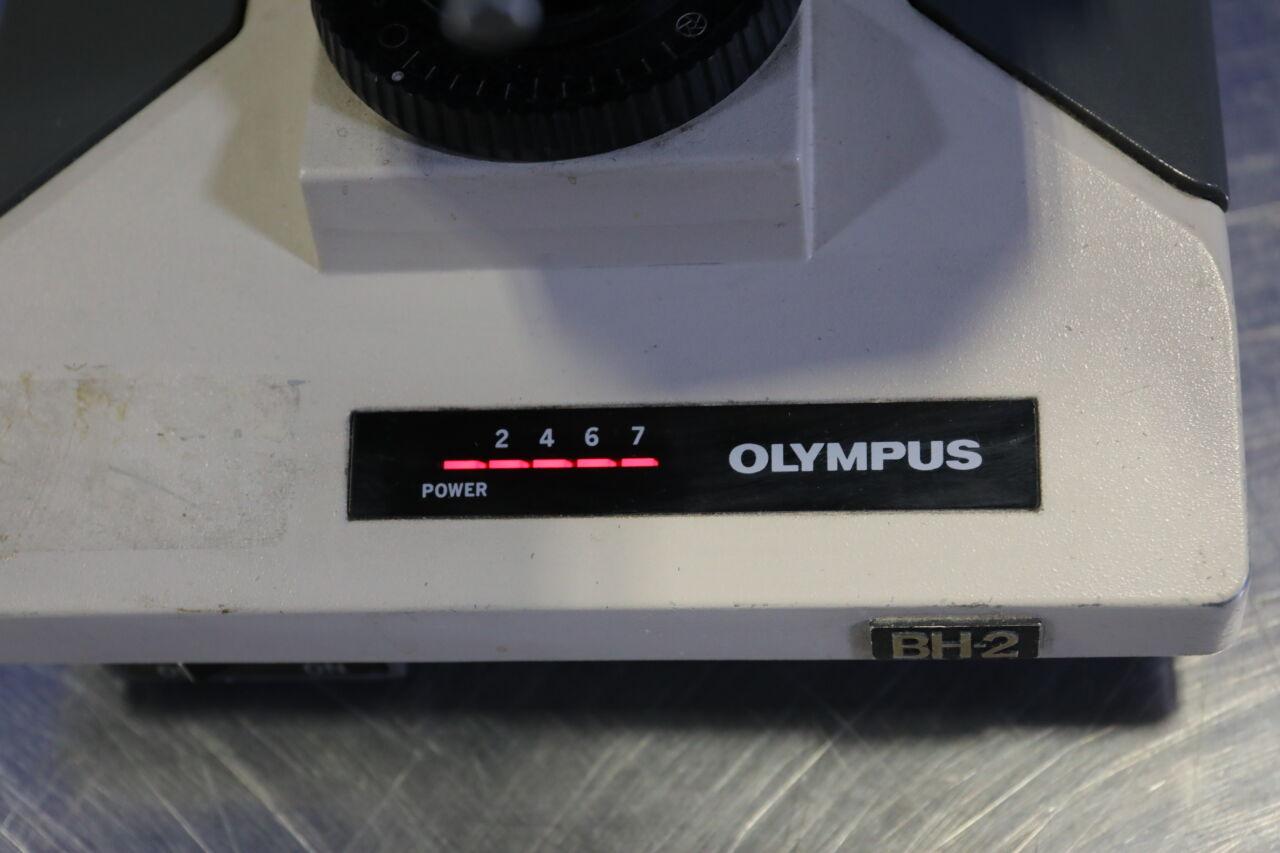 OLYMPUS BHTU Microscope