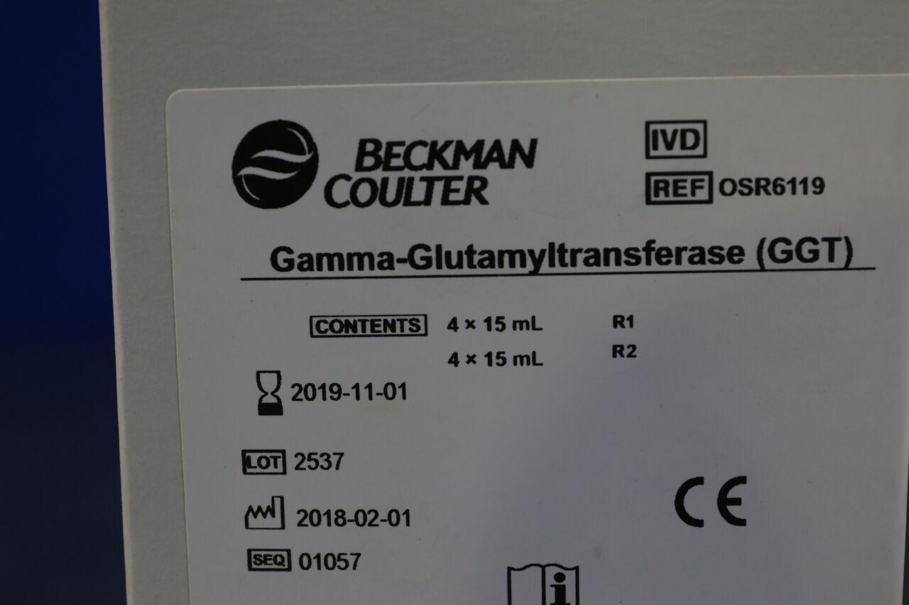 BECKMAN COULTER OSR6119 Gamma-Glutamyltransferase (GGT) Reloads