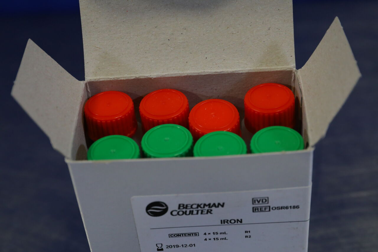 BECKMAN COULTER OSR6186 Iron Reagents - Lot of 3