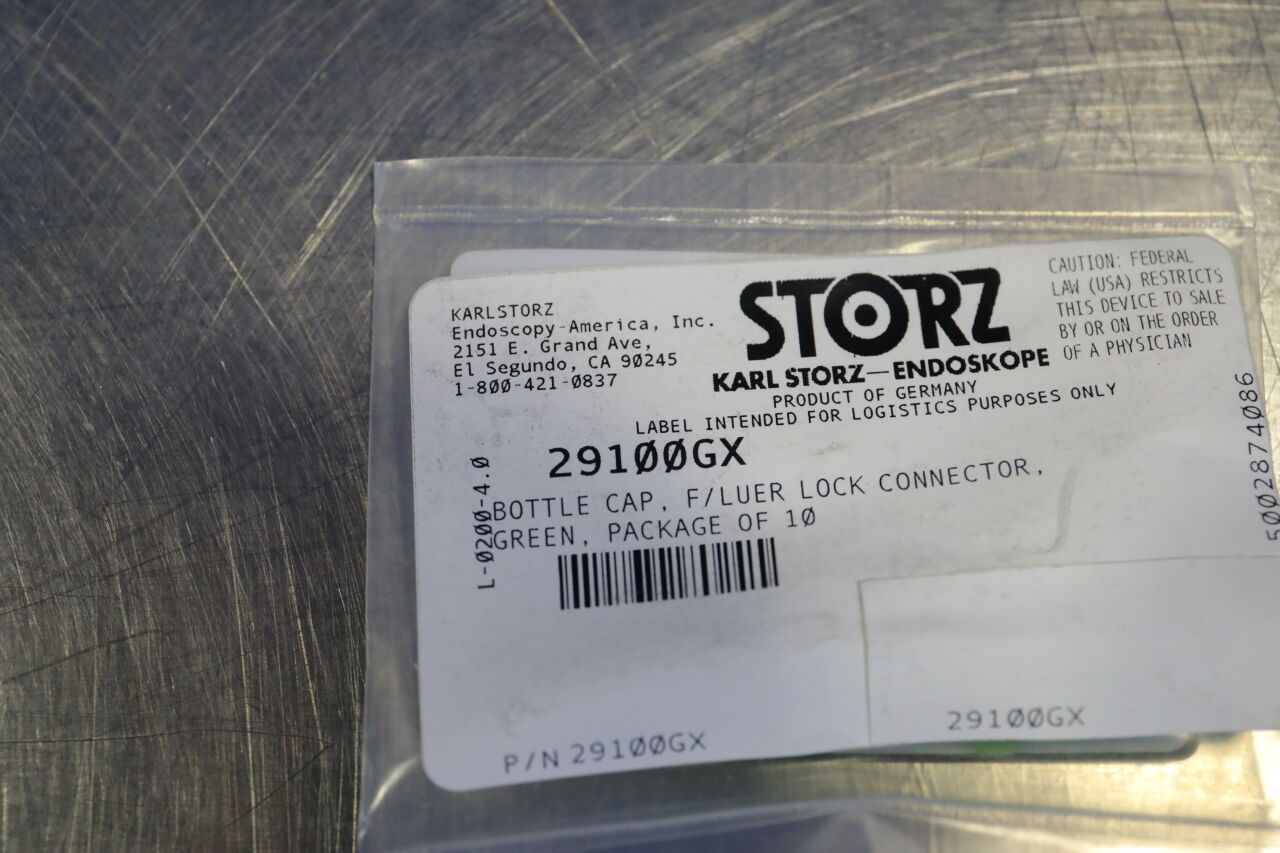 KARL STORZ Various Assorted Plugs w/ Strap