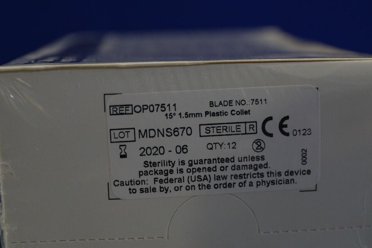 V. MUELLER OP07511 1.5mm Plastic Collet