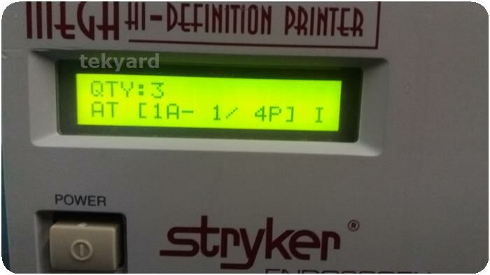 STRYKER 240-010-400 Printer
