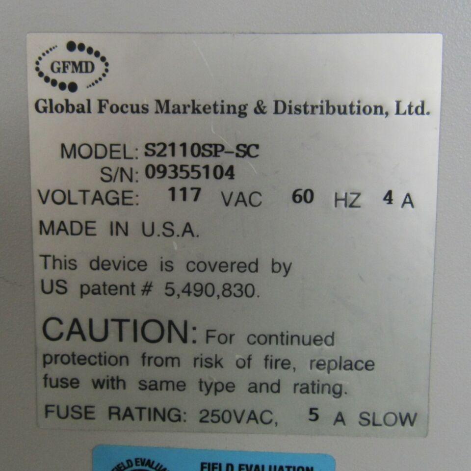 GFMD Silencer 2110  Centrifuge